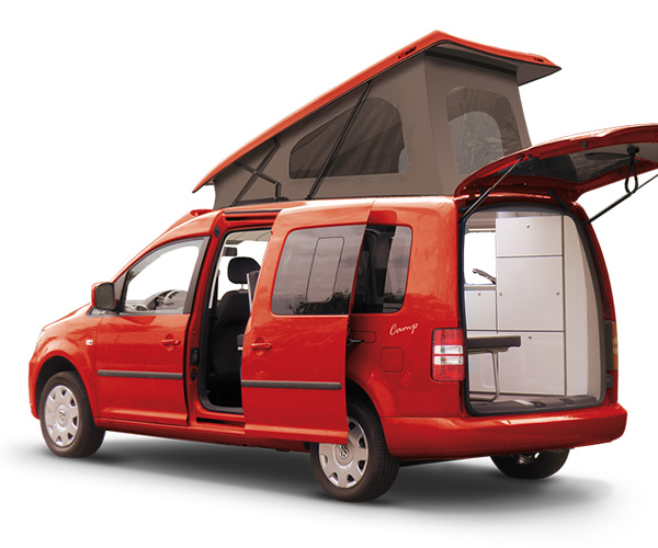 VW Caddy Maxi Camp