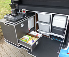 Caddy Camping Boxen